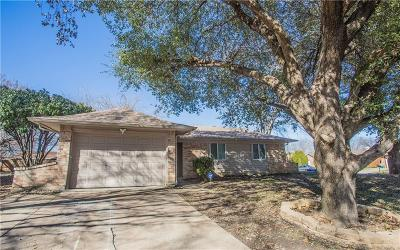 Haltom City Single Family Home Active Option Contract: 5749 Macrae Street