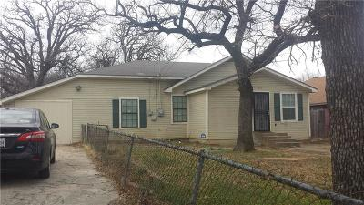 Fort Worth Single Family Home For Sale: 4514 Erath Street