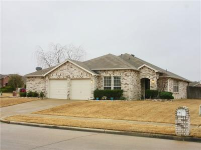 Forney Single Family Home Active Option Contract: 618 Chestnut Trail