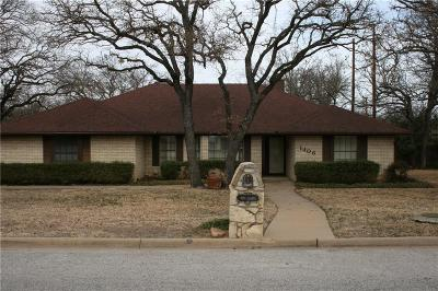 Mineral Wells Single Family Home For Sale: 1406 Alamo Street