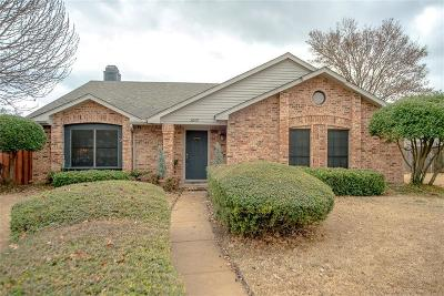 Garland Single Family Home Active Option Contract: 3609 Berrywood Circle