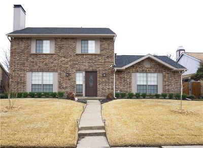 Rowlett Single Family Home Active Option Contract: 8818 Davis Street