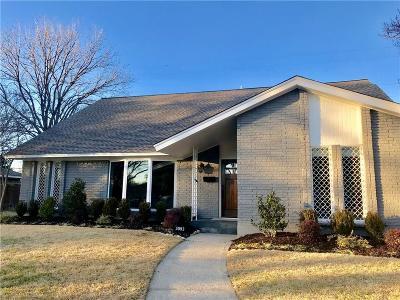 Dallas Single Family Home For Sale: 3093 Ponder Drive
