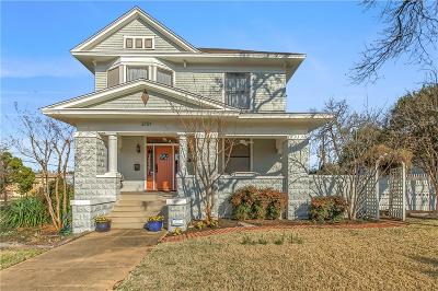 Fort Worth Single Family Home For Sale: 2101 Lipscomb Street