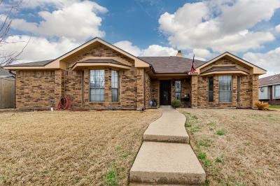 Rowlett Single Family Home For Sale: 7505 Aberdeen Drive