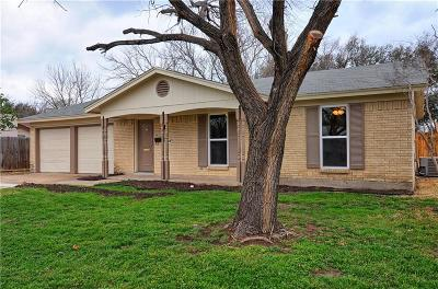 Burleson Single Family Home Active Option Contract: 824 SW Hillside Drive