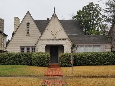 Highland Park, University Park Single Family Home For Sale: 4520 Edmondson Avenue