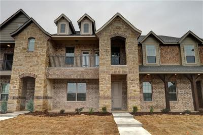 Wylie Townhouse For Sale: 803 Newhaven Drive