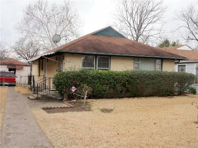 Dallas Single Family Home For Sale: 6914 Day Street