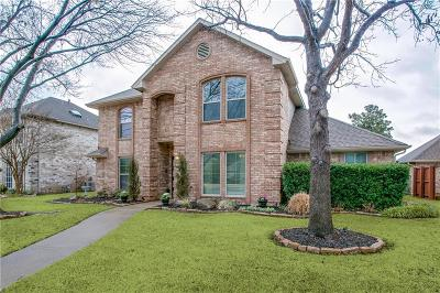 Coppell Single Family Home Active Option Contract: 305 Meadowood Lane