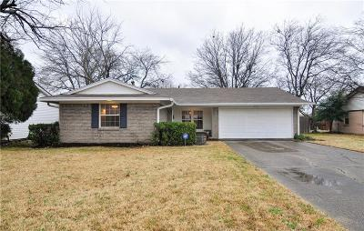 Richardson Single Family Home Active Option Contract: 513 Melrose Drive
