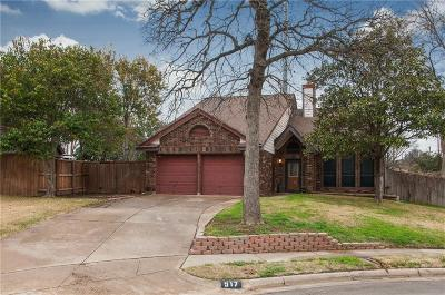 Euless Single Family Home Active Option Contract: 517 Holliday Lane