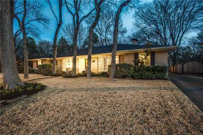 Dallas Single Family Home For Sale: 9208 Mercer Drive