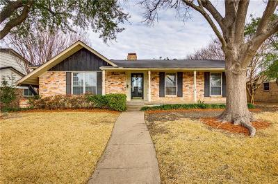 Richardson Single Family Home For Sale: 718 Brentwood Lane