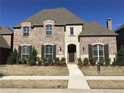 Lewisville Single Family Home For Sale: 2517 Damsel Bella Boulevard