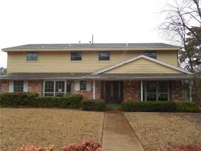 Dallas Single Family Home For Sale: 2606 Deep Hill Circle