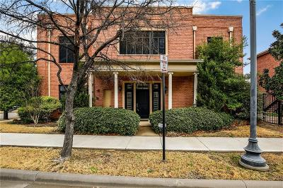 Frisco Townhouse For Sale: 8304 Library Street
