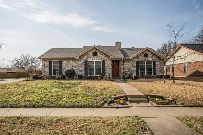 Lewisville Single Family Home For Sale: 802 Blue Oak Drive