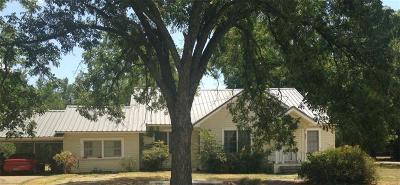Kerens Single Family Home For Sale: 211 SW 3rd Street