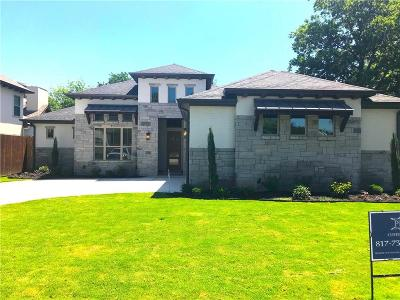 Fort Worth Single Family Home For Sale: 2505 Guilford Road