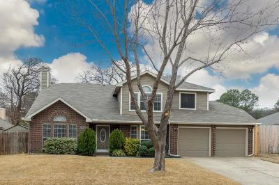 Grapevine Single Family Home Active Option Contract: 2066 Wedgewood Drive