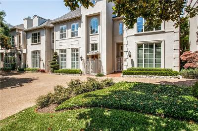 Dallas Townhouse For Sale: 7335 Inwood Road