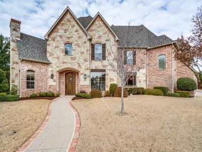 Coppell Single Family Home Active Option Contract: 632 Canemount Lane