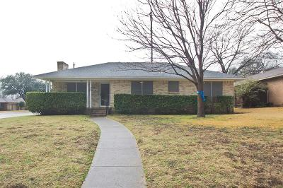 Richardson Single Family Home For Sale: 506 S Weatherred Drive