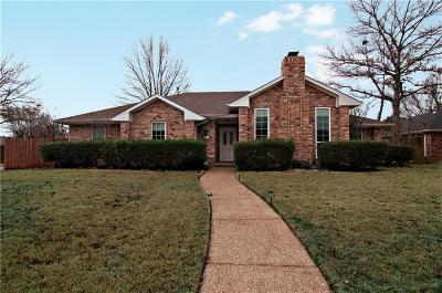 Coppell Single Family Home Active Option Contract: 739 Meadowglen Circle