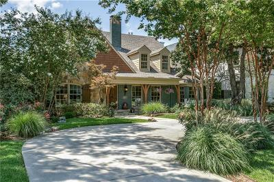 Allen, Dallas, Frisco, Plano, Prosper, Addison, Coppell, Highland Park, University Park, Southlake, Colleyville, Grapevine Single Family Home For Sale: 7702 Bryn Mawr Drive