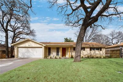 Hurst Single Family Home For Sale: 612 N Circleview Drive