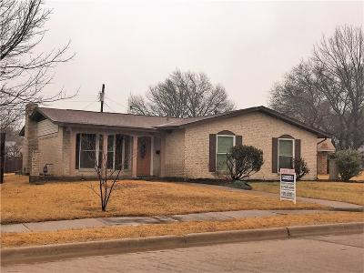 Irving Single Family Home For Sale: 3623 Chime Place