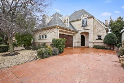 Plano Single Family Home Active Contingent: 5680 Gleneagles Drive