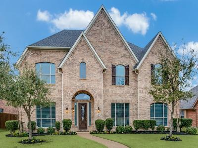 Frisco Single Family Home Active Contingent: 7663 Ivanhoe Drive