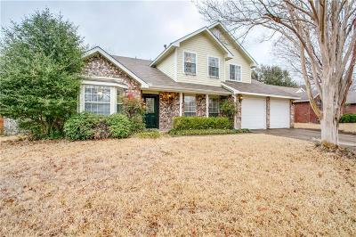 Grapevine Single Family Home Active Contingent: 2042 Willowood Drive