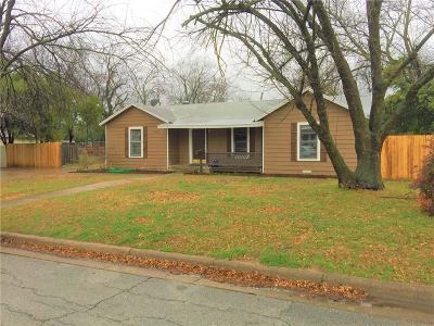 Haltom City Single Family Home For Sale: 3421 Parker Road