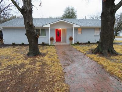 Benbrook Single Family Home Active Option Contract: 1017 Locust Street