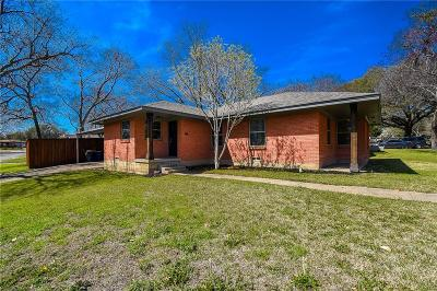 Dallas Single Family Home For Sale: 8207 Claremont Drive