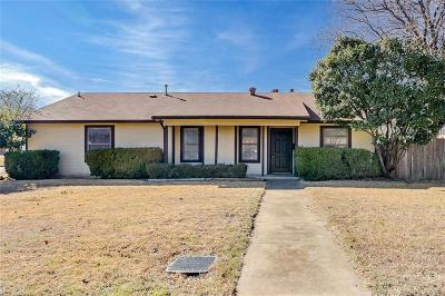Euless Single Family Home Active Option Contract: 914 Cannon Drive