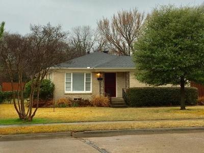 Dallas Single Family Home For Sale: 603 Brookhurst Drive