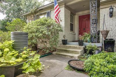 Dallas Single Family Home For Sale: 3912 Cortez Drive