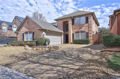 Plano Single Family Home Active Contingent: 2812 Prestonwood Drive