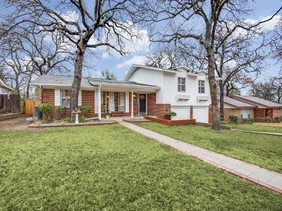 Hurst Single Family Home For Sale: 708 Timberhill Drive