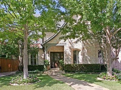 Highland Park, University Park Single Family Home For Sale: 4524 Edmondson Avenue