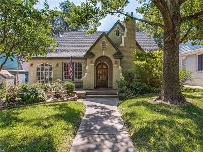 Dallas TX Single Family Home For Sale: $649,000