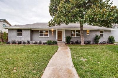 Dallas Single Family Home For Sale: 6141 E University Boulevard
