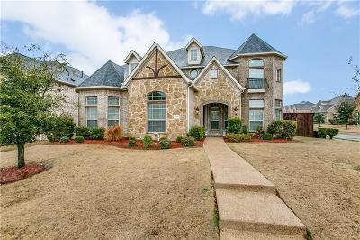 Frisco Single Family Home Active Option Contract: 9218 Cherry Brook Lane