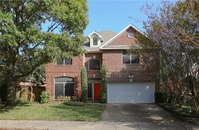Addison Single Family Home For Sale: 14601 Waterview Circle