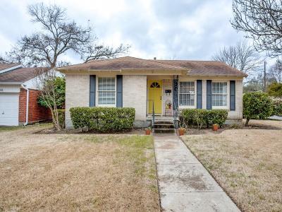 Dallas TX Single Family Home For Sale: $275,000