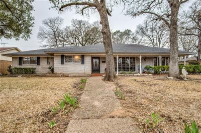 Irving Single Family Home For Sale: 1707 Post Oak Drive
